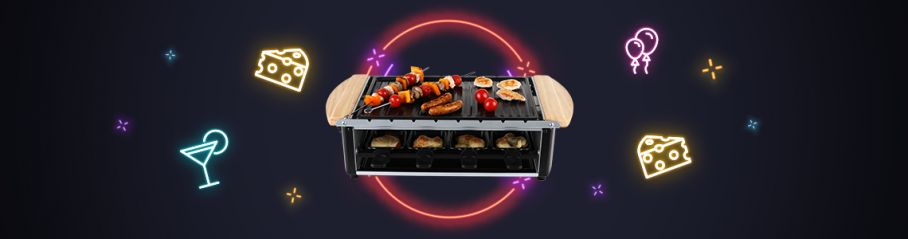 Raclette-Grills