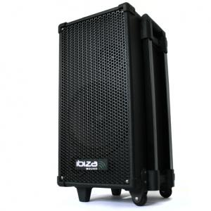 "160W Active Mobile DJ Portable PA System with CD Player & USB 20 cm (8"")"