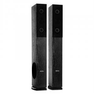 LB 4707 Altoparlanti 4 Vie 960W Subwoofer Home Cinema nero