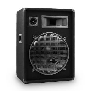 "PW-1522 3 Way Speaker 15"" 800W Black 