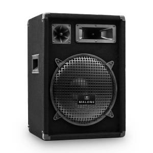 "PW-1222 3 Way 12"" Speaker 600W Black 