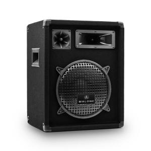 "Auna PW-1022 3-Way PA Speaker 10"" (25 cm) 400W max./200 W RMS Black Black 
