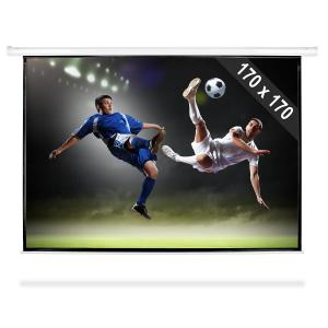 Roll-up Home Cinema Projector Screen HDTV 170x170cm