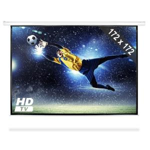 Motorised Cinema Projector Screen HDTV 172x172cm