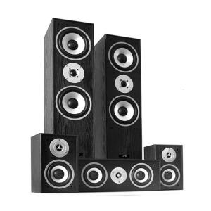 Multicav Surround Sound Speaker Set 1150 Watts MAX Black