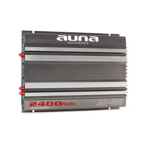 AB0450 4 Channel Car Amplifier 2400W PMPO Racing Design 4.0