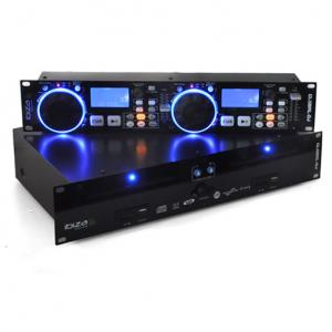 Double Lecteur DJ PA Platine CD 2x USB MP3 2x SD