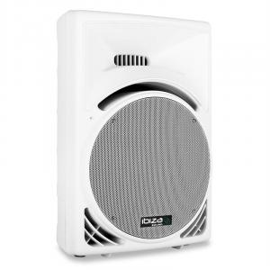 "700W 15"" Passive DJ PA Speaker ABS Housing - White"
