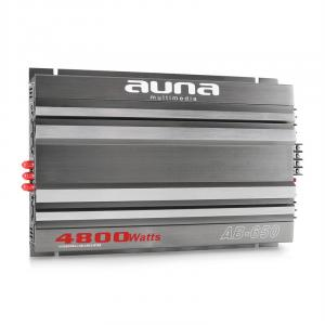 AB-650 Bridgeable 4800W PMPO Car Hifi 6-Channel Amplifier 6.0