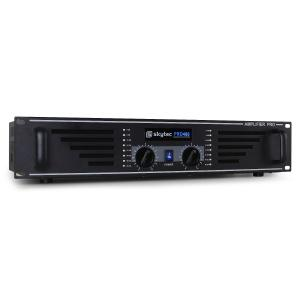 "PA-480 Watt DJ PA Amplifier 19"" Rack Mountable - Black"