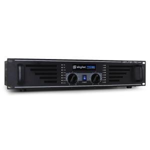 KY-480 amplituner wzmacniacz PA/DJ 2 x 480W czarny