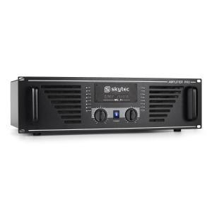 PA versterker AMP-2000 3200W eindversterker zwart