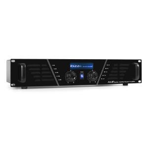 AMP-600 wzmacniacz DJ nagłośnieniowy 960W MOSFET rack