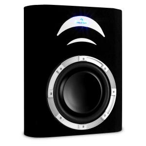 "10 "" Passive Flat Car Subwoofer 500 Watts with Lighting Effects 25 cm (10"")"