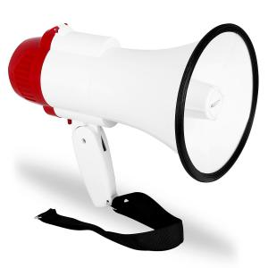 Bullhorn Megaphone Sports Loudspeaker Siren - Football, Cricket, Olympics - 500 meters