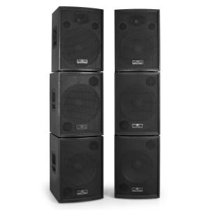 "Equipment 5000 Watt 15"" Inch PA Speakers & 15"" Bass Bin System"