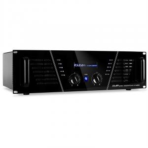 Amplificatore ibiza amp-1000 pa dj 1600W disco led blu