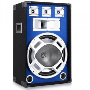 "Blue LED 15"" Passive DJ PA Speaker - 800W"