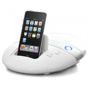 Docking station ipod dock console giochi controller sd
