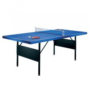 Pingisbord 183x71x91cm hopfällbart med 2 racket