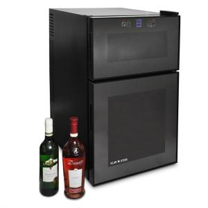 Large Wine Cooler Fridge 24 bottles capacity - Black