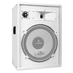 "<h2 >Malone PW-1522 3 Way Speaker 15"" 800W White</h2> White | 38 cm (15"")"
