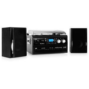 TCDR-186 WC Stereoanlage Doppel-CD-Recorder Kassette Platte
