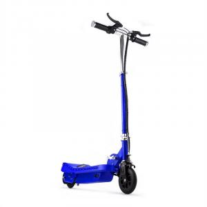 Electric E-Scooter Ride-On Fun 120W V6 LED 15km/h - Blue Blue