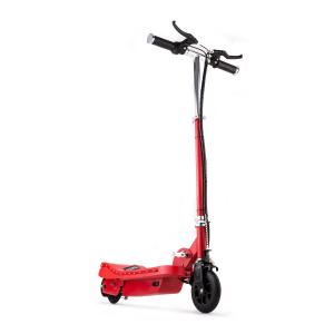 Electric E-Scooter Ride-On Fun V6 120W LED 15 km/h - Red Red