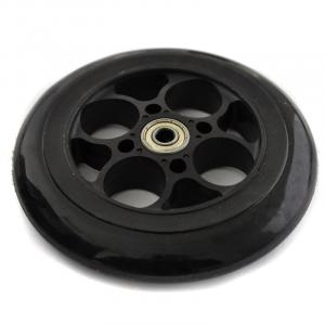 Spare Front Wheel for Electric Scooters - Black