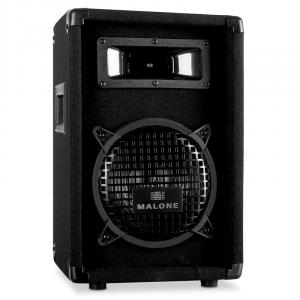 "PW-0822 Passive 8"" DJ PA 2-Way Speaker - 300W Black 