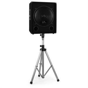 Tripod Speaker Stand for PA Speakers 25kg Load - Silver
