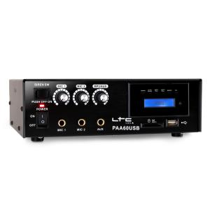 PAA60USB PA Hifi Karaoke Amplifier USB SD MP3 -12V