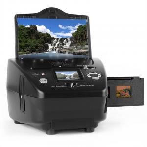 Combo Slide Film Photo Scanner SD xD 5.1 MP Black