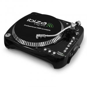 SD USB Turntable Vinyl Record Player PC MP3 recording