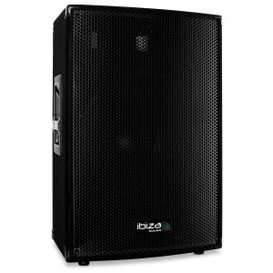 "AMP15 Active DJ PA Speaker 15"" Inch Bass - 900W"