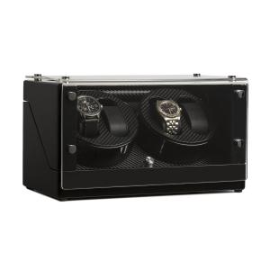 Watch winder Klarstein CA2PM för fyra ur karbon-optik 4_watches