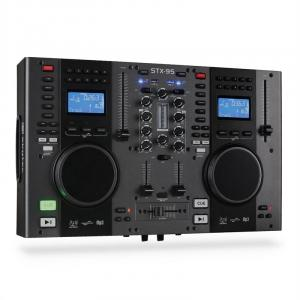 Kontroler Skytec STX-95 DJ podwójny CD USB-MP3
