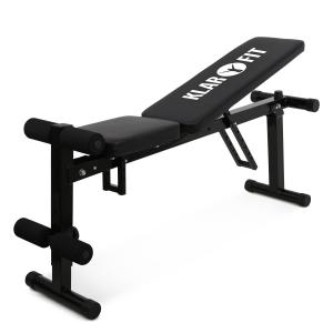 panca per bilanciere e sit up ripiegabile 118 cm