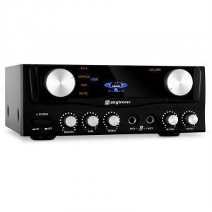 103.202 Amplificatore hi fi 2 ingressi RCA 400W nero