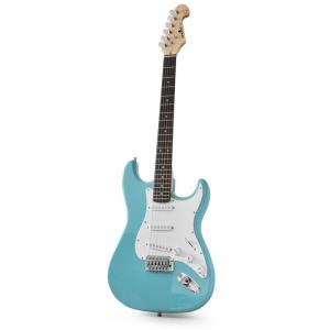 CAL63 Electric Guitar 6-Strings Alder/Maple Turquoise