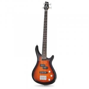 Basgitaar Chord CCB90 E-bass sunburst 4 snaren
