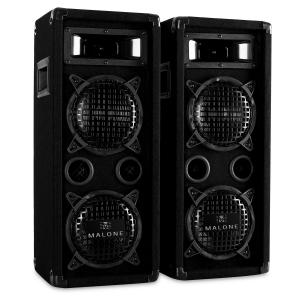 "PW-65X22 3-way Speakers 2 x 16 cm (6.5"") 2 x 300 W RMS (2 x 600 W max.) 2x 16.5 cm (6.5"")"