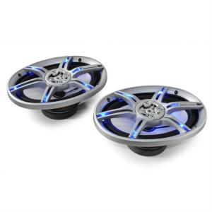 "CS-LED69 Blue LED 6x9"" Inch Car Audio Speakers 2x500W max. Pair 15 cm x 23 cm (6"" x 9"")"