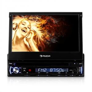 Bilradio Auna DTA90 18cm Moniceiver DVD-spelare USB SD