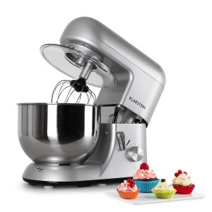 Bella Argentea Kitchen Machine Stand Mixer 1200W 1.6 HP 5 Litre Silver Silver
