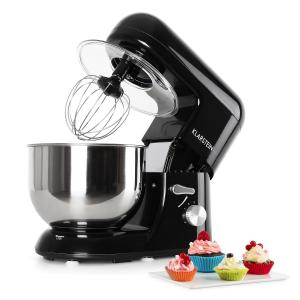 Bella Nera Kitchen Machine Stand Mixer 1200W 5 Litre Black Black