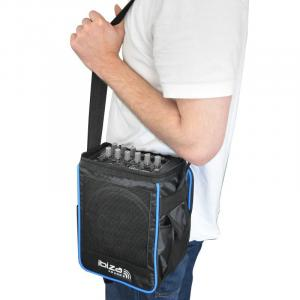 "Port-6 Portable PA System Speaker & Bag Mic USB 12V 15 cm (6"")"