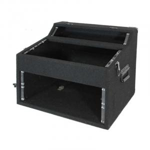 PA DJ Equipment Rack Case 2+5+4U