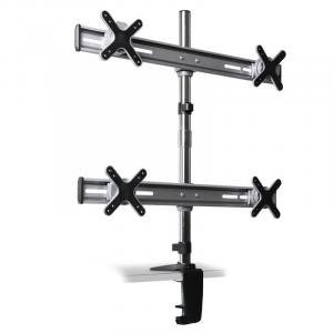 ET01-C04 Table Mounting Bracket for 4 Monitors Screens